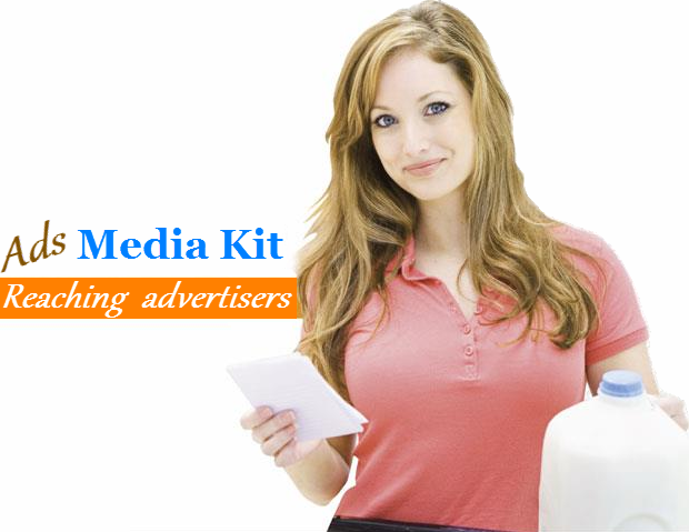 Media Kit for blog advertisers