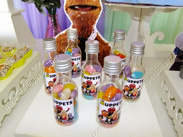 Decoração de festa infantil Muppets provençal