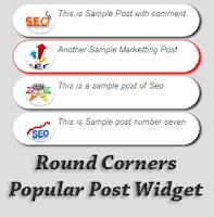 Bài đăng phổ biến với góc bo tròn cho blogspot