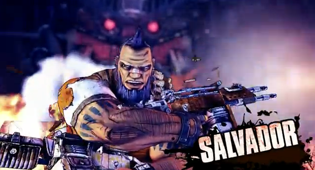 Borderlands 2 New Playable Character Salvador