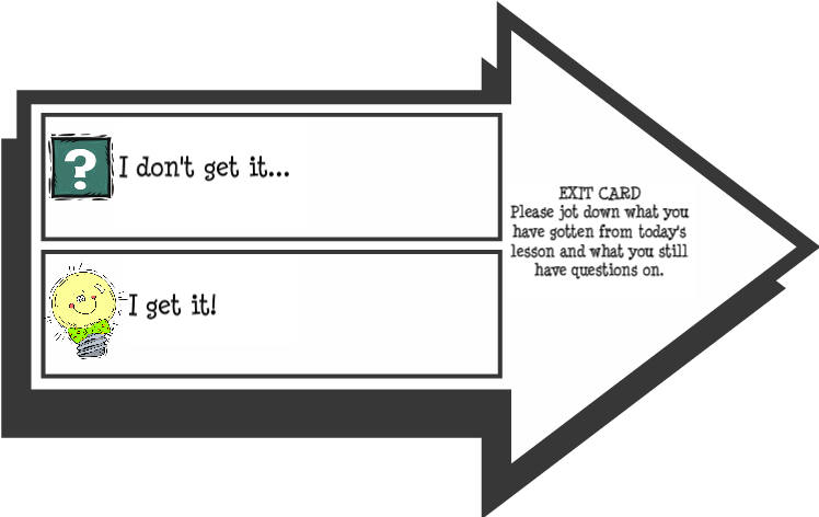 TicketOut the Door/ Exit Slips