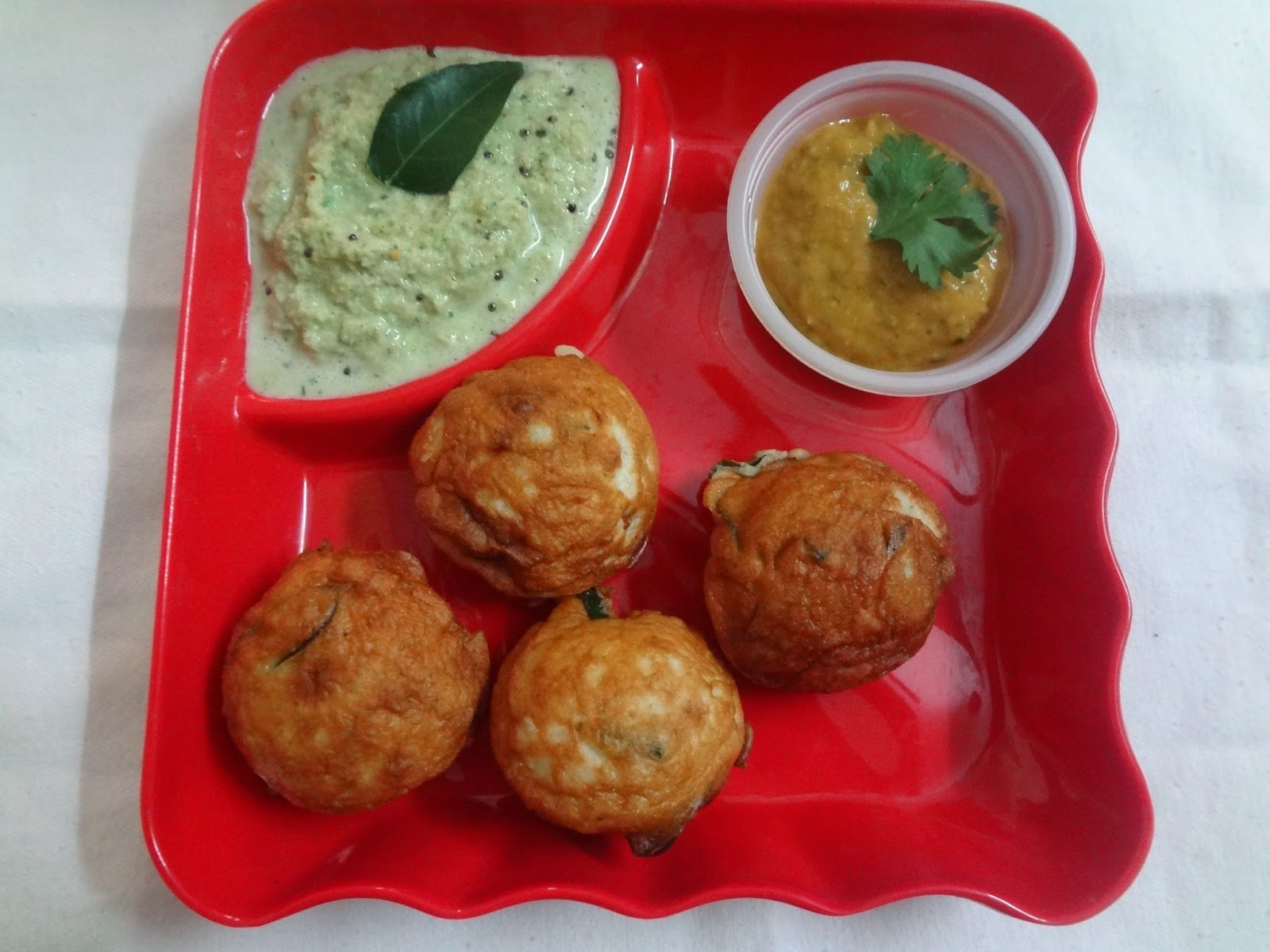 how to make vada with hole