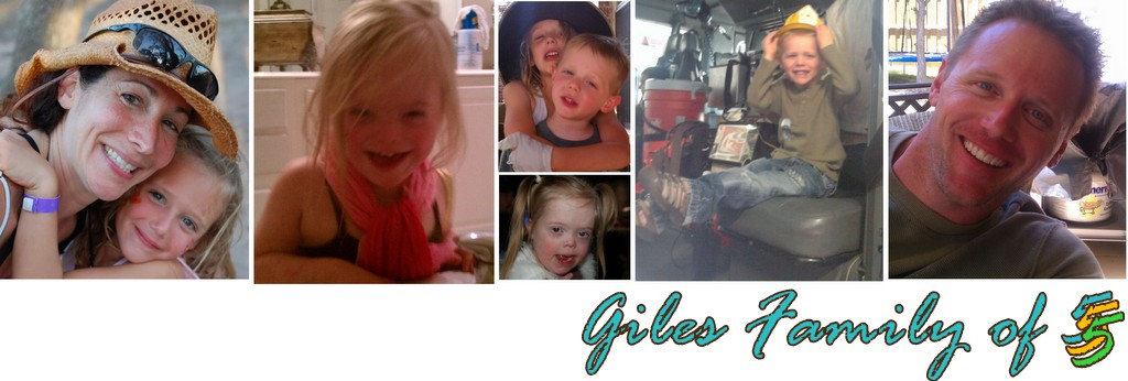 Giles family of 5
