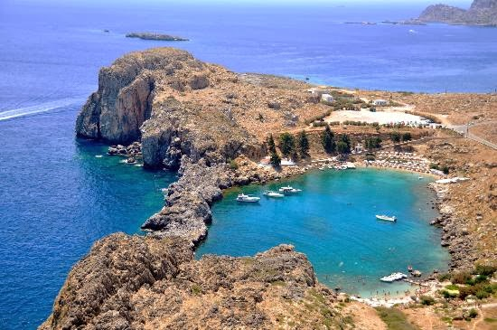 удивително красив залив в Гърция