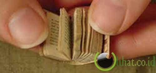buku berjudul The World's Smallest Book