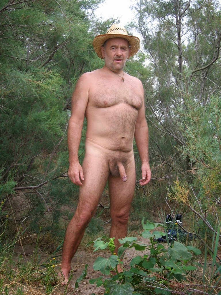 nude Men Hairy outdoor Chubby