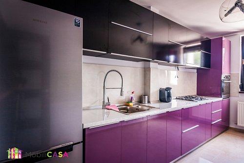 bucătărie mov