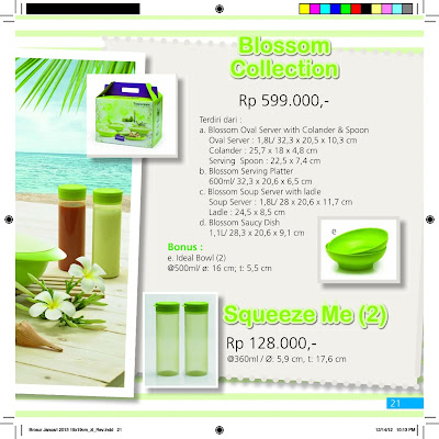 promo surabaya blossom collection tupperware promo januari 2013