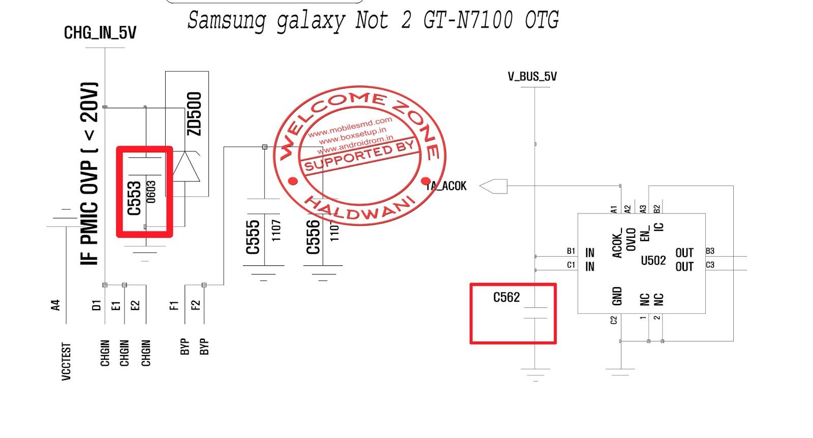 Samsung Galaxy Usb Wiring Diagram Pdf Mobile Circuit Otg Image Not 2 Gt N7100 Working