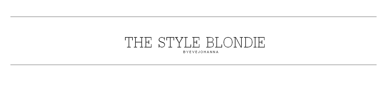 THE STYLE BLONDIE