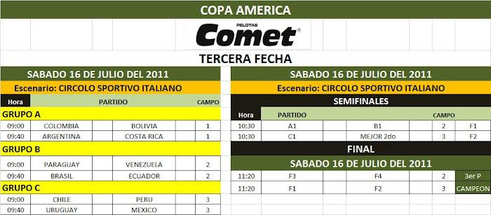 """""""COPA AMERICA MENORES 2011 """""""