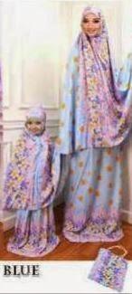 Mukena Ibu Anak Lebaran Trend 2015