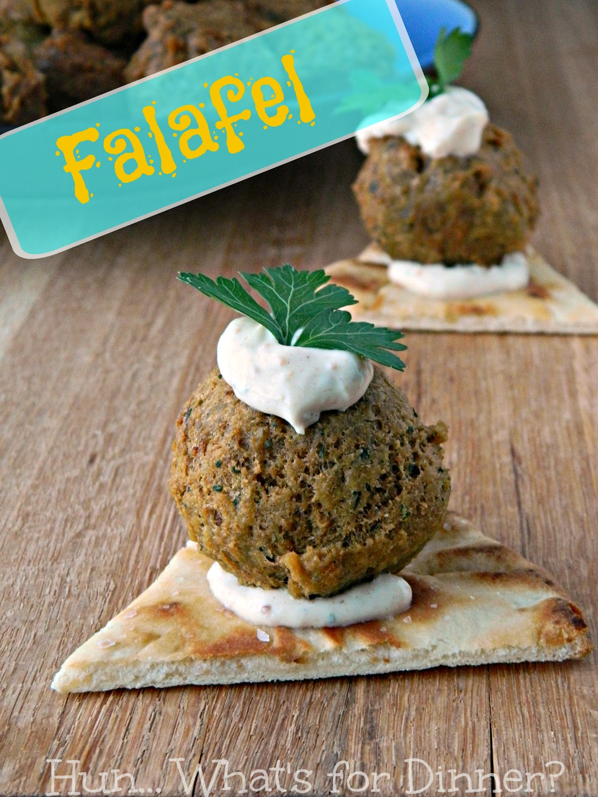 Homemade Falafel- Secret Recipe Club