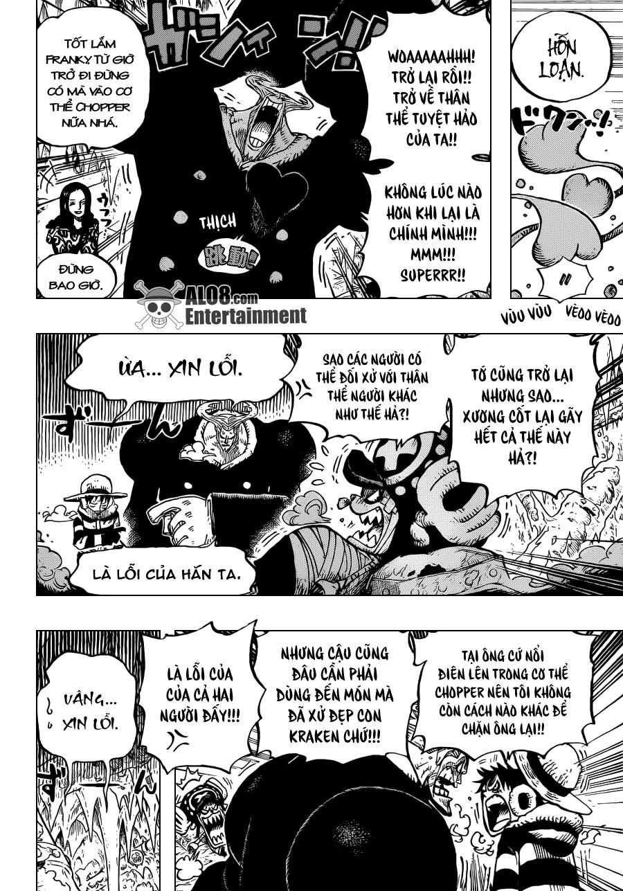 One Piece Chapter 668: Liên minh Hải tặc 006