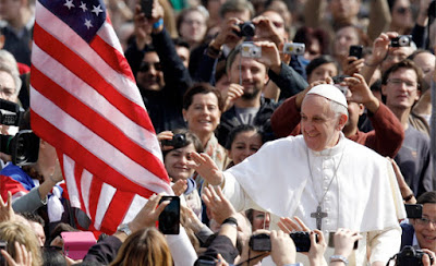 Pope to challenge America's founding principles during US visit