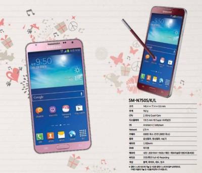 Samsung Galaxy Note 3 Neo Warna Pink dan Merah Segera Hadir
