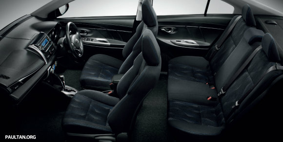 Toyota Vios Serba baharu menerapkan penggayaan baharu yang lebih jitu