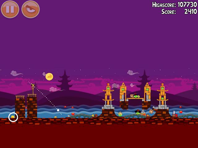 Angry Birds Seasons: Mooncake Festival 2-14