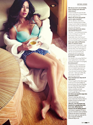 Jayne Chen HQ Pictures FHM Singapore Magazine Photoshoot February 2014
