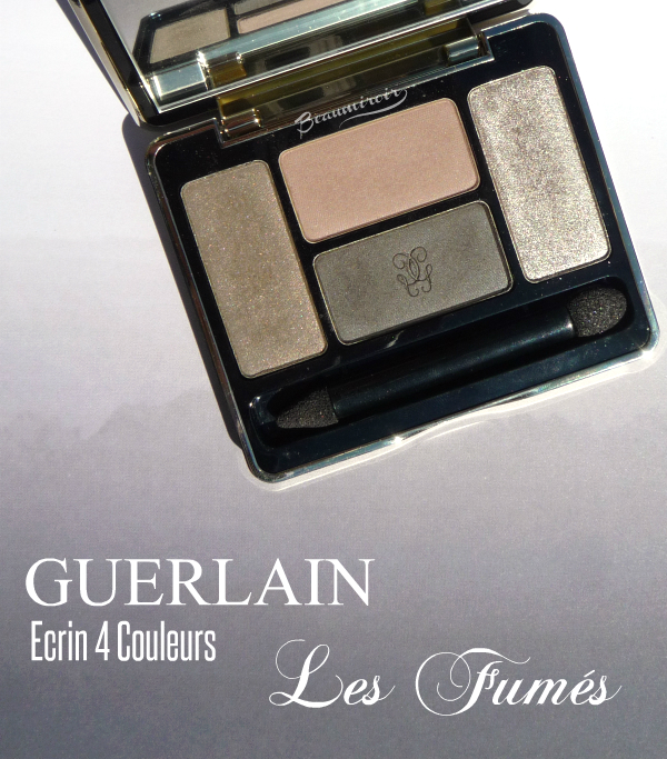 Guerlain Ecrin 4 Couleurs Les Fumes: photos, review, swatches