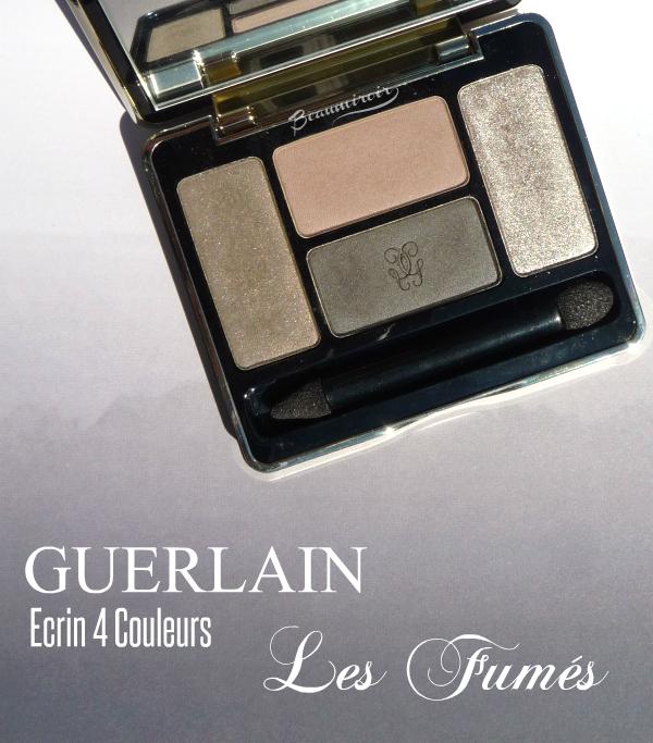 Guerlain Ecrin 4 Couleurs Les Fumes: photos, review, swatches