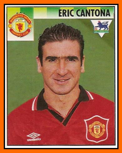 Personnage de Martine 18/02 trouvé par Martin Eric+CANTONA+Panini+Merlin+sticker+Manchester+United+1994-95