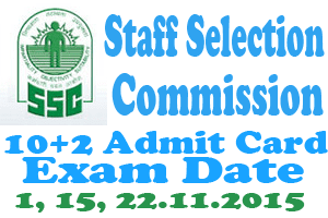 SSC LDC Admit Card 2017