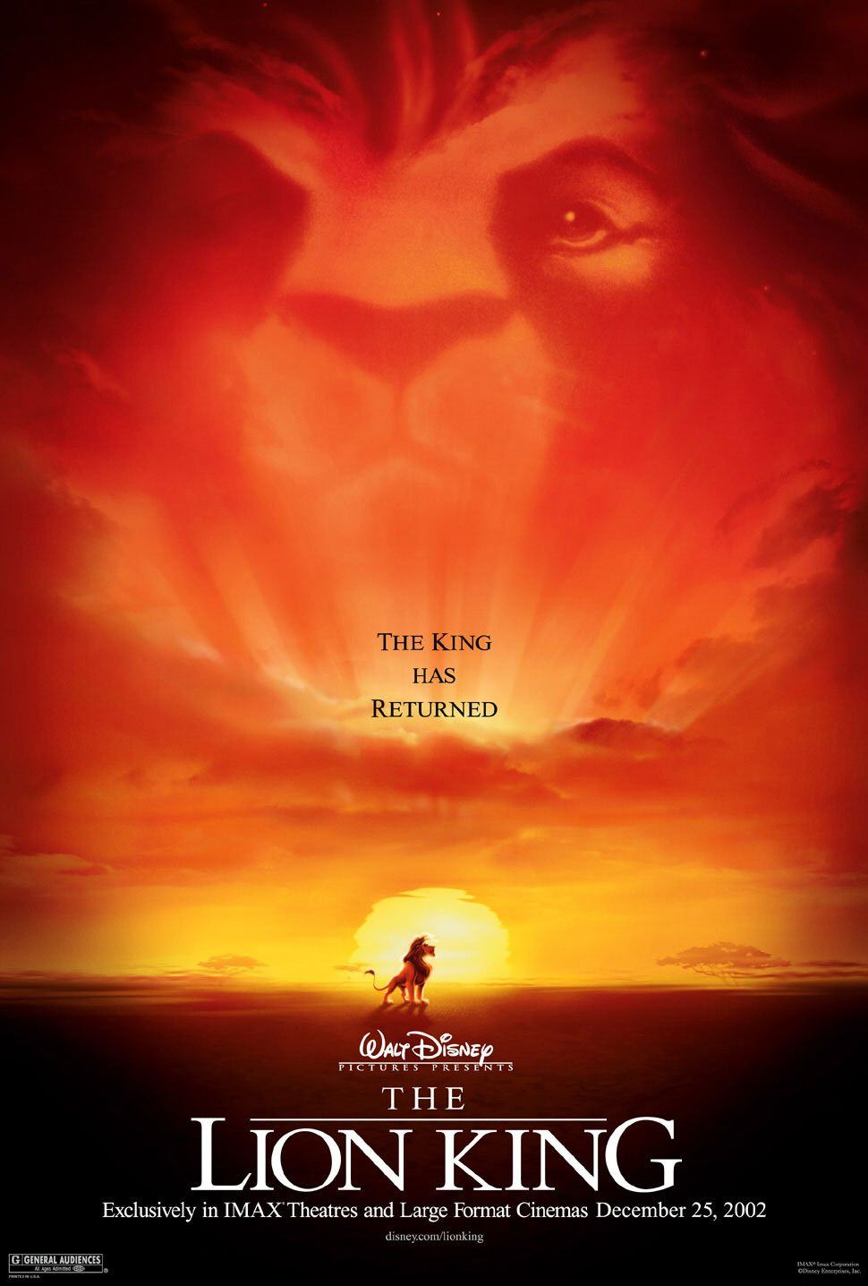 THE LION KING 1994 | BRRIP | 720p | 500 MB