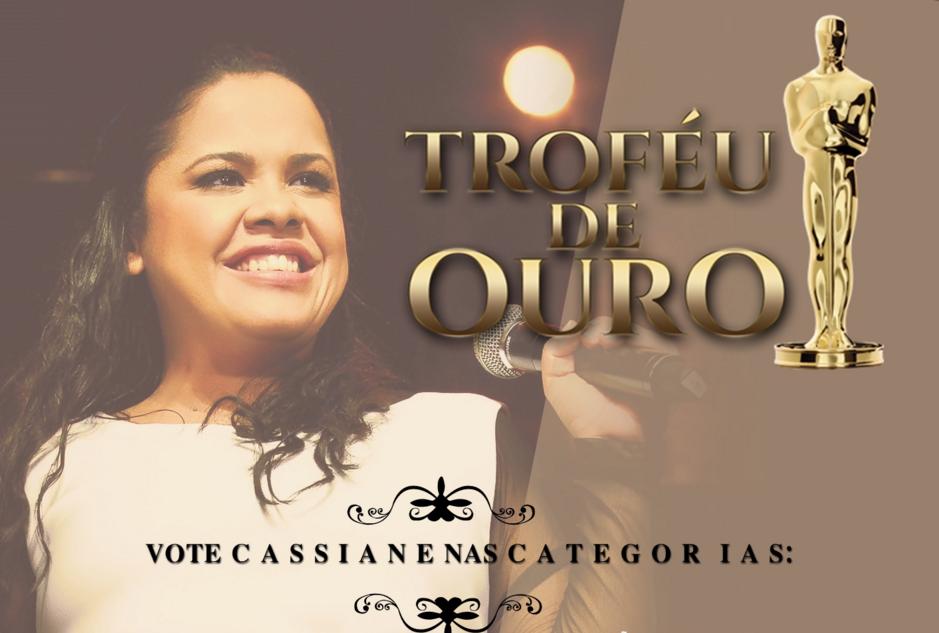 Click e Vote em Cassiane no Trofeu de Ouro
