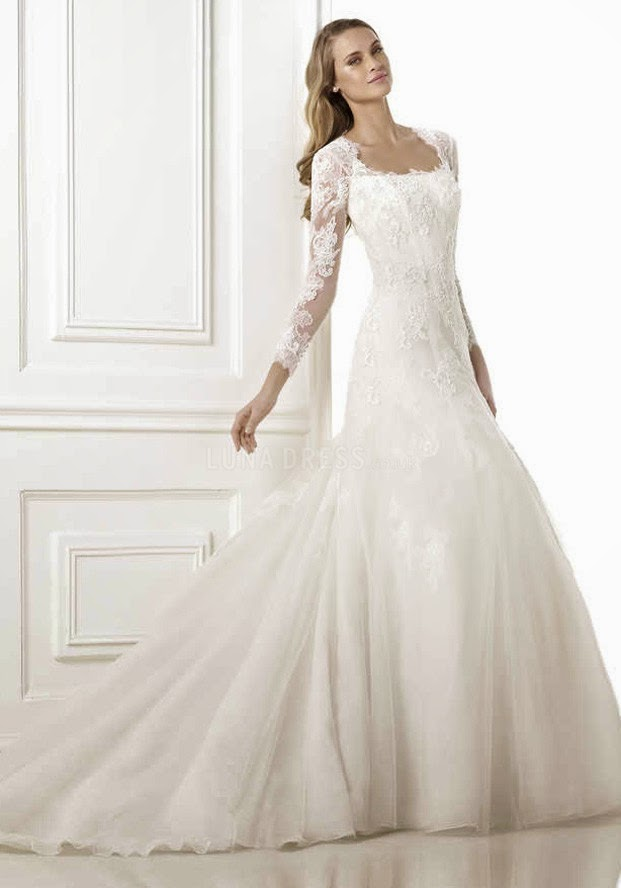 Bridal fashion: how to choose a long sleeve wedding gown ...