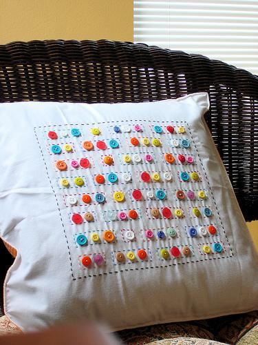 Kancing Baju untuk Ornamen Dekoratif Cushion Cover