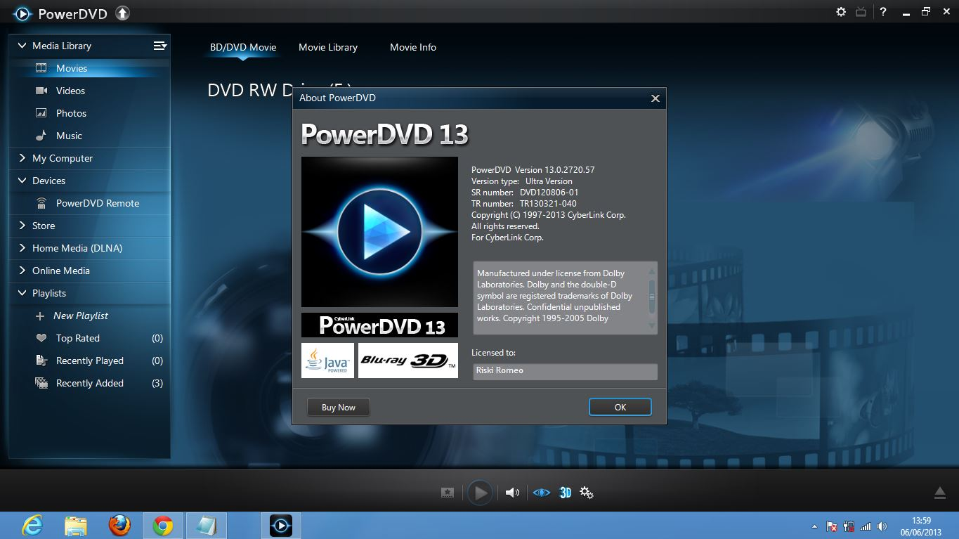 Файл содержимое Скачать торрент CyberLink Power DVD 10.0.1516.51 Ultra 3D +