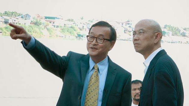 Sam Rainsy: I'll be a better PM than Hun Sen