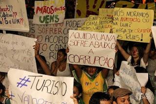 Manifestação em Anastácio/Aquidauana