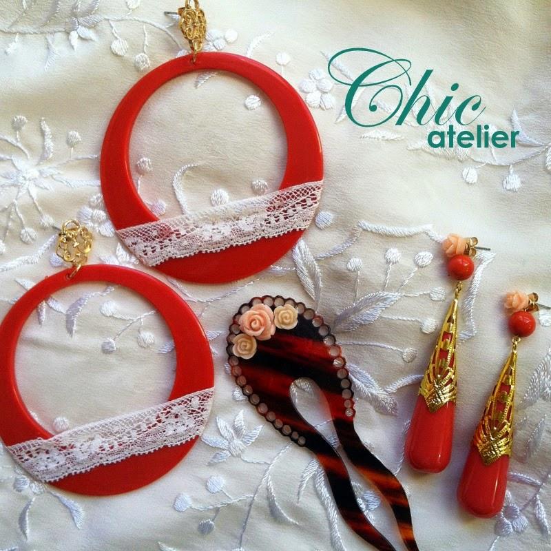 Complementos de flamenca originales hechos a mano