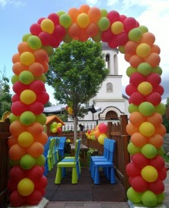 Ideas to decorate the garden for a children's party ~ Big Solutions