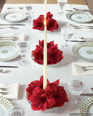 Beverly Harris Weddings and Events Martha Stewart Christmas Holiday Table