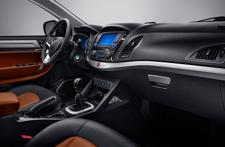 a car JAC S5 2014