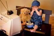 A influência negativa da programação da TV na criança