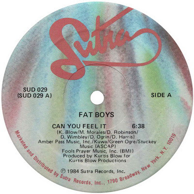 Fat Boys - Can You Feel It (VLS) (1984) Flac