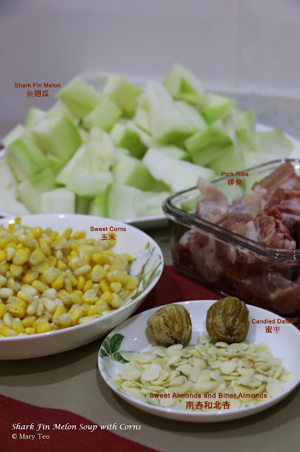 Shark Fin Melon Soup with Corns