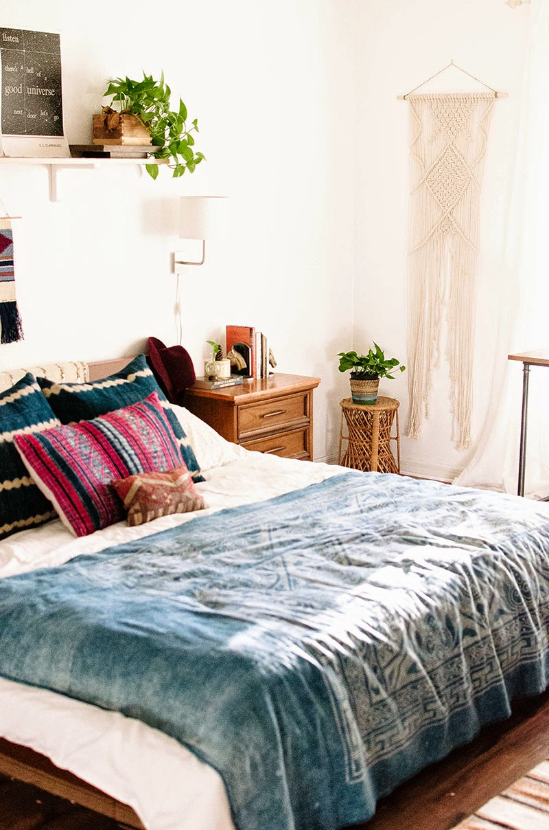 Decoración Dormitorio Macramé