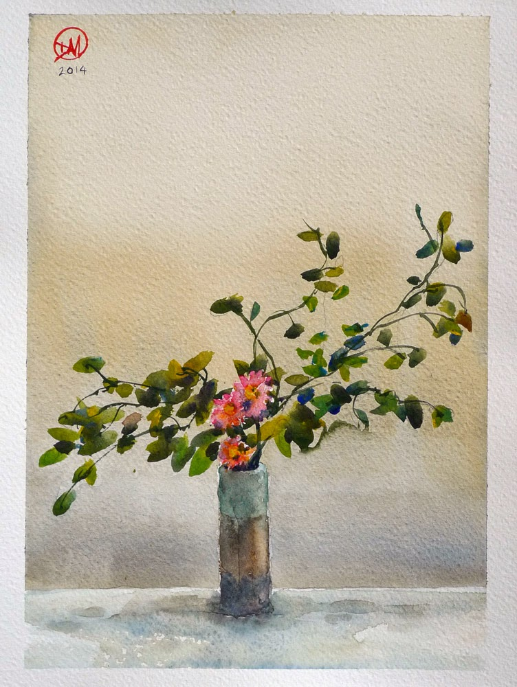 Japanese Flowers by David Meldrum