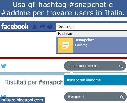 snapchat users italia