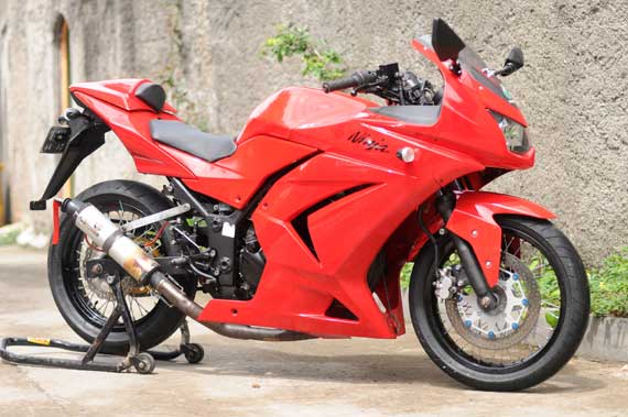Modifikasi Pelek Jari-Jari Di Ninja 250R , PJM Protehnics LJM Racing  title=