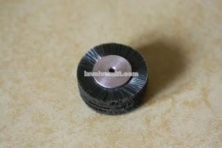 miniature wheel brush. electronics brush