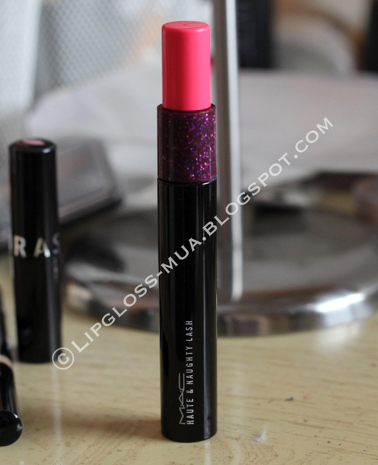 Lady Lip Gloss: A Review: MAC Haute & Naughty Lash Mascara