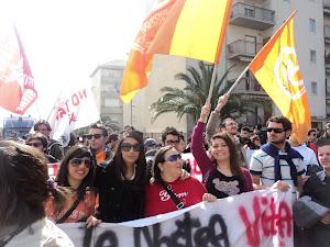 Manifestazione No Mous - Niscemi