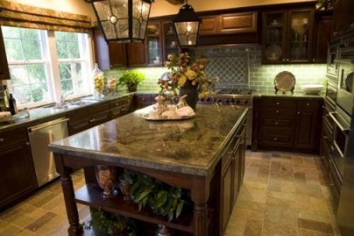 cocina encimera granito