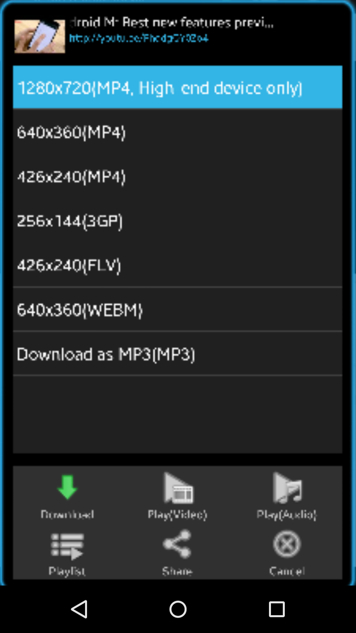 how to download youtube videos to my android phone